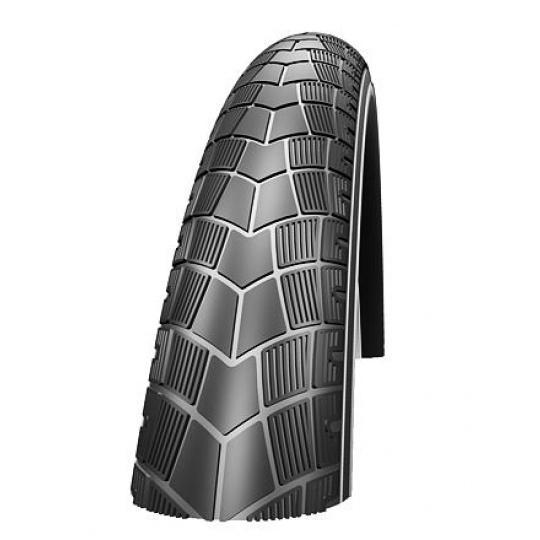 Impac plášť Bigpac 26x2.0 černá+reflexní pruh