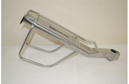 Nosič art.220 Na sedlovku stříbrný s postranicemi
