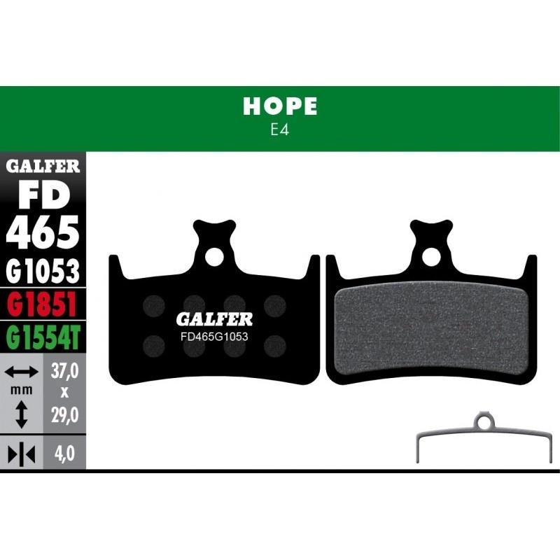 GALFER destičky HOPE FD465 standart