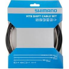 SHIMANO MTB řadící set OT-SP41 z nerez oceli 2000mm, 1 x 2100mm, černý