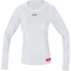 GORE Base Layer WS Lady Thermo Shirt long-light grey/white