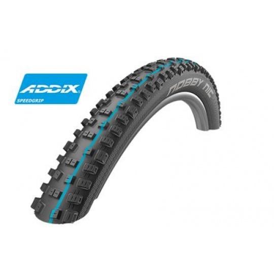 Schwalbe plášť Nobby Nic 29x2.25 Addix Speedgrip SnakeSkin Tubeless-easy černá skládací