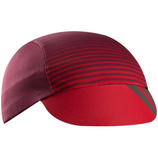PEARL iZUMi TRANSFER cyklistická čepice, port/rogue red dash, ONE SIZE