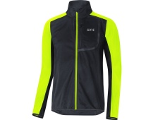 GORE C3 WS Jacket-black/neon yellow