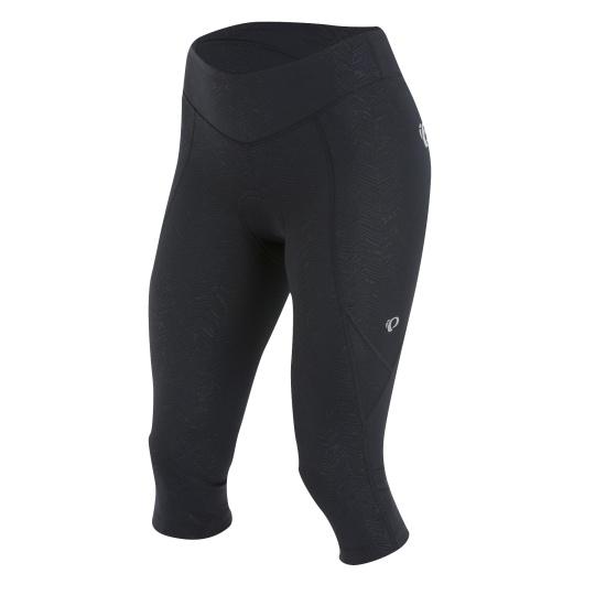 PEARL iZUMi W SELECT SUGAR 3/4 kalhoty, černá TEXTURE, M