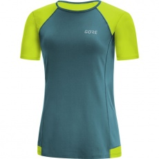 GORE R5 Women Shirt-dark nordic/citrus green