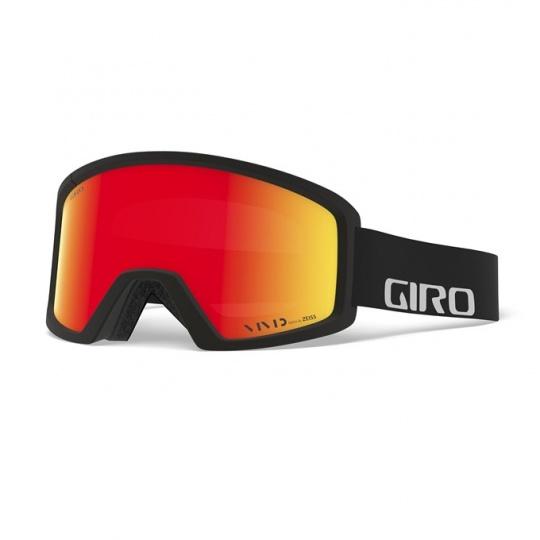 GIRO Blok Black Wordmark Vivid Ember