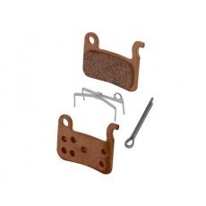 Brzdové destičky Shimano  BR-M975,65 M06 kovové pro brzdy Shimano BR-M505,535,585,601,415,765,800,965+pružinky