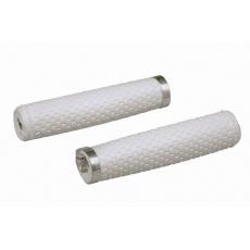 PRO gripy Tharsis 135 mm, bílé