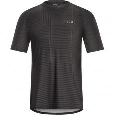 GORE M Line Brand Shirt-dark graphite grey/black