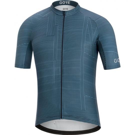 GORE C3 Line Brand Jersey-deep water blue/orbit blue