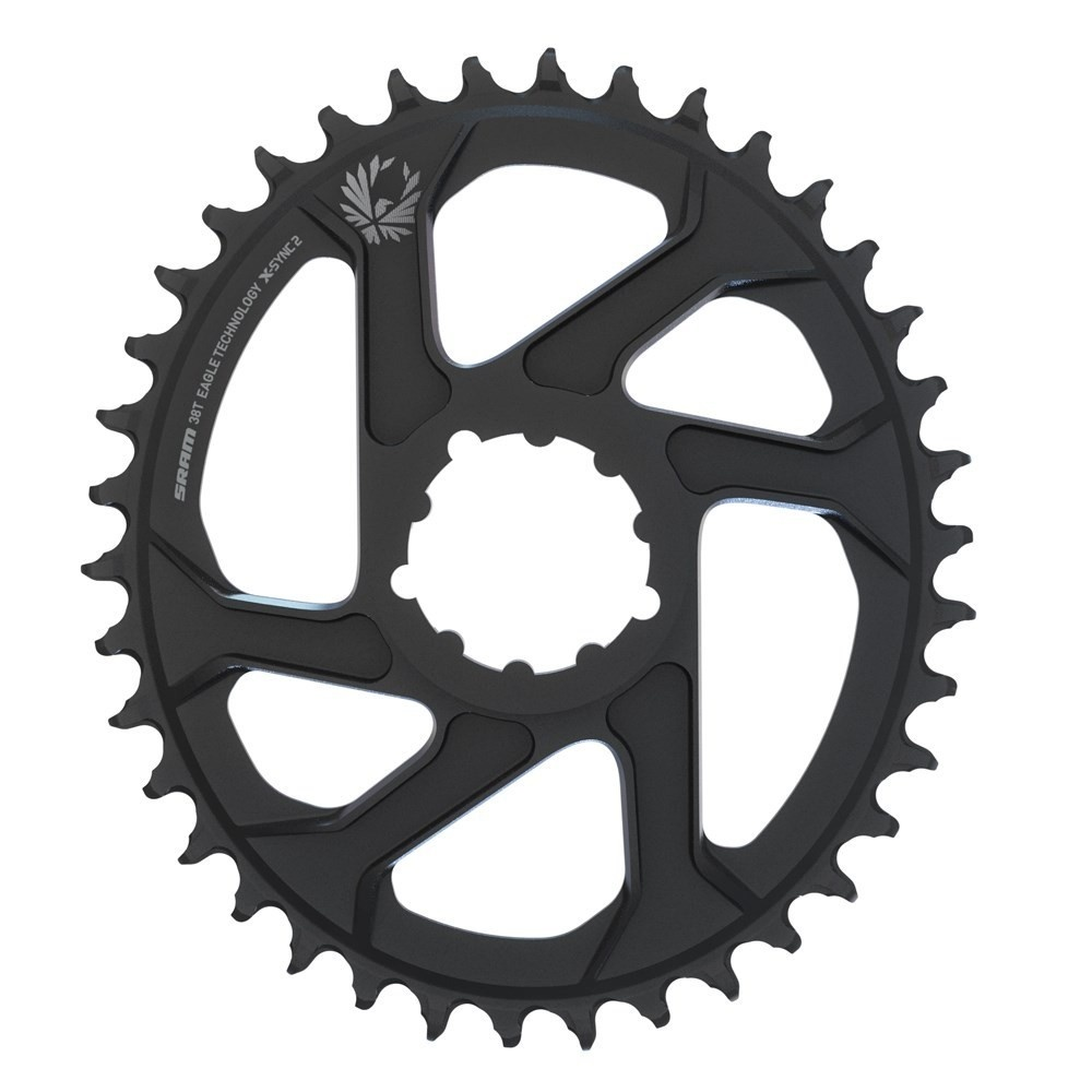 11.6218.038.020 - SRAM CR X-SYNC EAGLE OVAL 34T DM 3 OFF B BLK