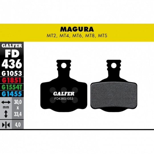 GALFER destičky MAGURA/CAMPAGNOLO FD436 E-bike