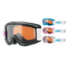 lyžařské brýle UVEX SNOWY PRO SET-12 ks, polarwhite/black/iceblue/pink