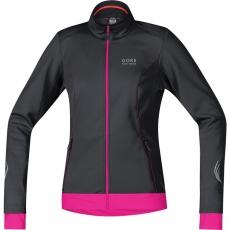 GORE Element Lady WS Soft Shell Jacket-black/magenta