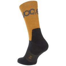 EVOC ponožky - SOCKS MEDIUM loam