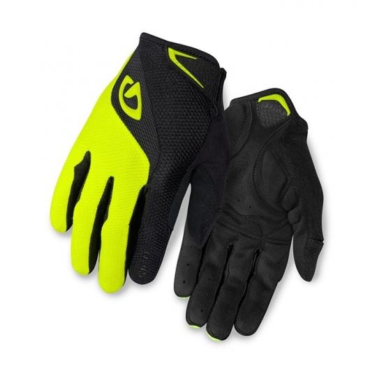 GIRO rukavice BRAVO LF-black/highlight yellow