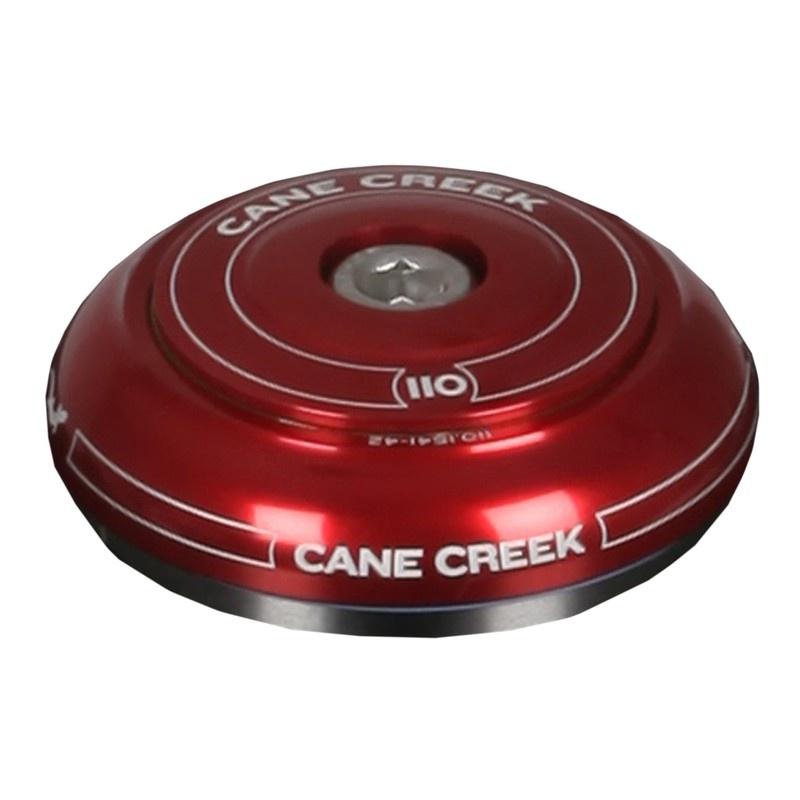 Hlavové složení Cane Creek 110 IS42 Short Top (red)