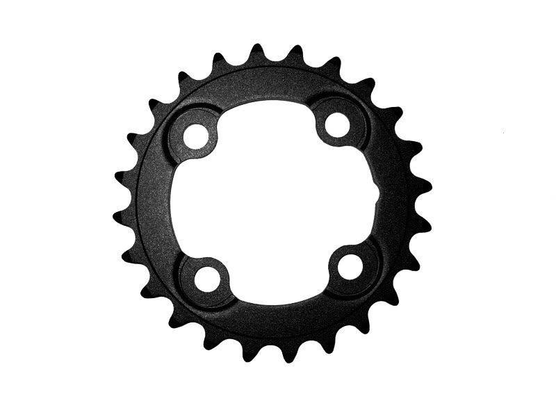 Prevodník FSA MTB cierny, ocel, 64x24 zubov pre 2x10 a 3x10 speed