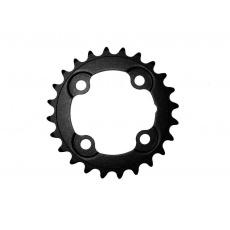 Převodník FSA MTB černý, ocel, 64x24 zubů pro 2x10 a 3x10 speed