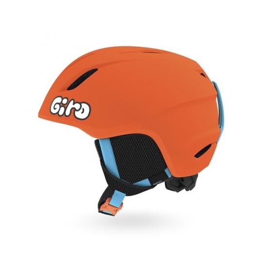 GIRO Launch Mat Bright Orange/Jelly XS