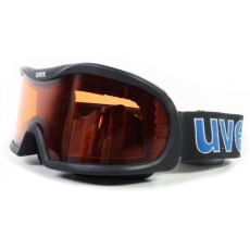 lyžařské brýle VISION OPTIC I, black double lens/lasergold lite (2329)