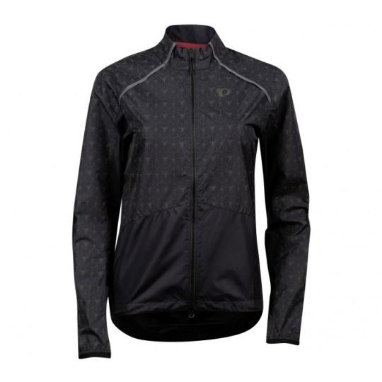 PEARL iZUMi BIOVIZ BARRIER dámská bunda, černá/REFLECTIVE DECO