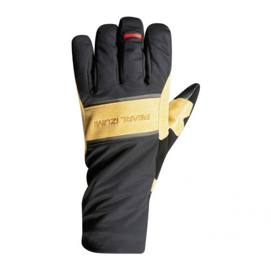 PEARL iZUMi AMFIB GEL rukavice, černá/BLACK TAN