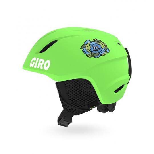 GIRO Launch Mat Bright Green/Lilnugs XS
