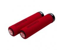 00.7915.068.030 - SRAM SRAM LOCKING GRIPS FOAM 129 RED/BLK