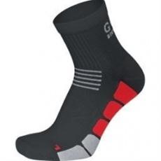 GORE Speed Socks MID-black/red