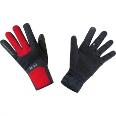 GORE M WS Thermo Gloves-black/red
