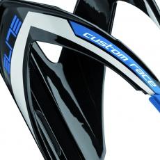 ELITE košík CUSTOM RACE  lesklý černý/modrý
