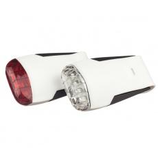 GUEE Tadpole USB SET př+z světlo/blikačka-bílý