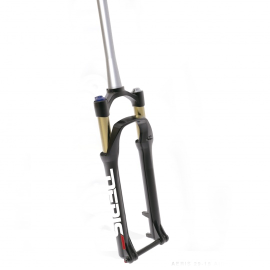 SPINNER 29'' odpružená vidlice AERIS AIR, remote, zdvih 100 mm, DISC, 15mm osa, tapered, černá