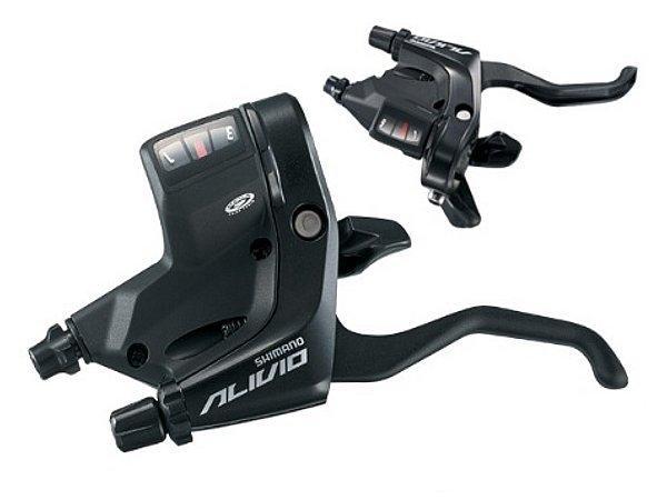 Řadící-brzdové páky Shimano Alivio ST-M430 3x9 levá+pravá  barva černá