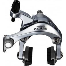 SHIMANO brzda 105 BR-5800 silniční zadní R55C4 stříbrná šr:10,5 mm bal
