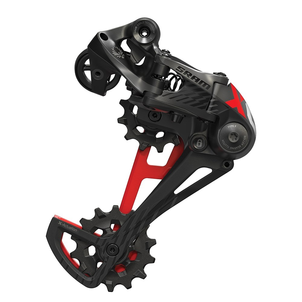 00.7518.096.000 - SRAM AM RD X01 EAGLE TYPE 2.1 12 SPEED RED