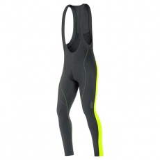 GORE Element 2.0 Thermo Bibtights+-black/neon yellow