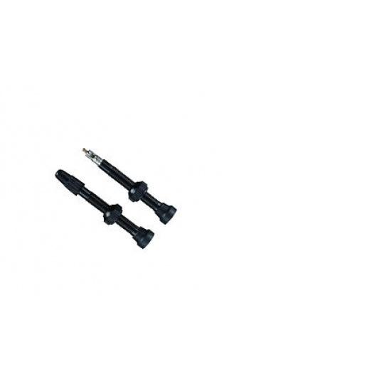 XON ventilek tubeless XVC-09 černý 45mm sada 2ks