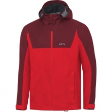 GORE R3 GTX Active Hooded Jacket-red/chestnut red-
