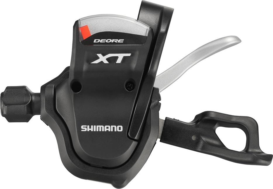 SHIMANO řadící páka levá Deore XT 3 rychl 1800mm lanko