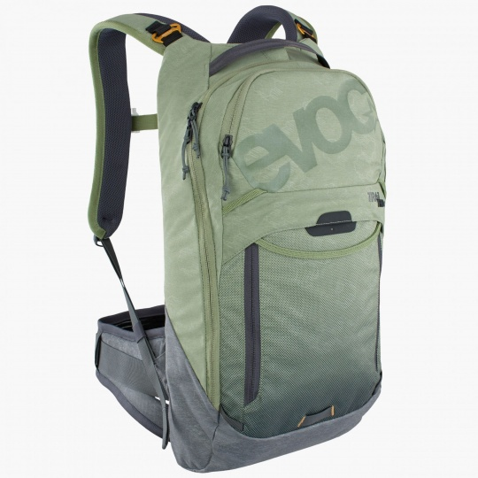 EVOC batoh TRAIL PRO 10 light olive - carbon grey