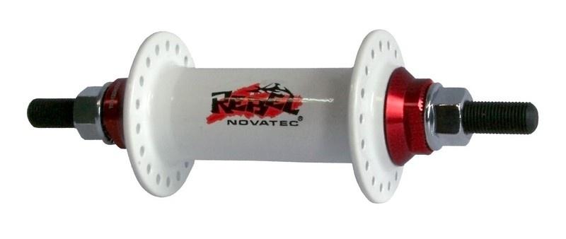 Náboj Novatec 765SBT, predný, 36-dierový, biely