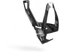 ELITE košík CANNIBAL XC lesklý černý/bílý