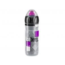Termo láhev ELITE  ICEBERG 0,5l ,logo fialová
