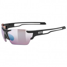 2021 UVEX BRÝLE SPORTSTYLE 803 SMALL CV (ColorVision), BLACK MAT (2296)