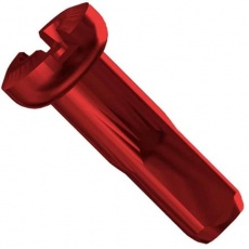 Sapim nipl Alu polyax 12mm červený zámek secure lock