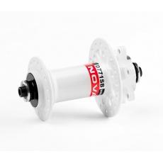 Náboj Novatec D771SB + redukce 15mm, přední, 32-děrový, bíly