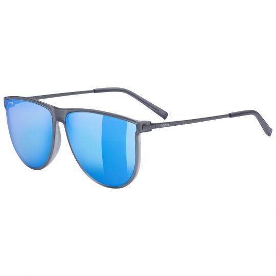 2021 UVEX BRÝLE LGL 47, SMOKE MAT / MIRROR BLUE (5516)